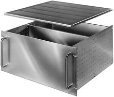4252 Aluminum Solid Top or Bottom Cover, 17-3/64