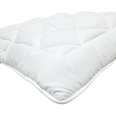 Fully Reversible Double Life 1 Down Alternative Mattress Topper Pad W Stay Tight Anchor Straps Full