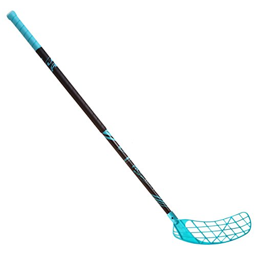 ACCUFLI Floorball Stick Airtek A100 Right 44inch (111cm) Teal