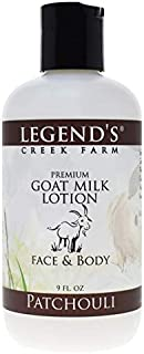 product image for Legend's Creek Farm Lotion, Premium Goat Milk Lotion, No Harsh Chemicals, Deeply Moisturizing, Handmade in USA (Patchouli L.)