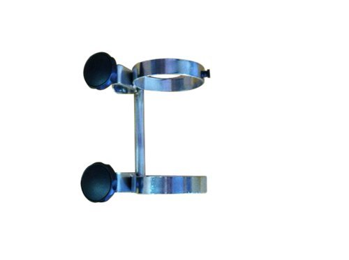FWF OXYGEN CYLINDER POLE MOUNT RACK FOR 1 (D OR E STYLE) CYLINDER DIAMETER 4.3'' MADE IN USA