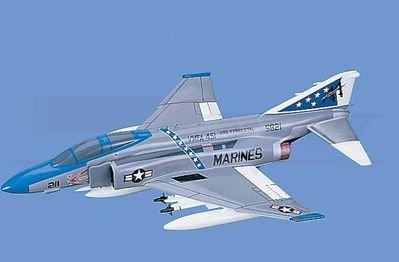 F-4J Phantom II - Marines, VMFA-451, Loaded Aircraft Model Mahogany Display Model / Toy. Scale: 1/45
