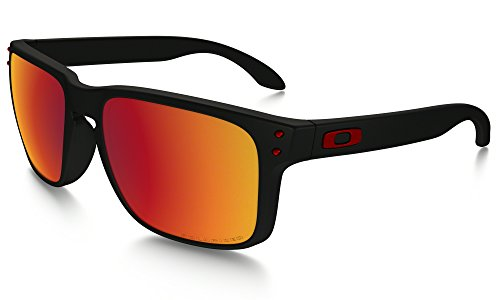 Oakley Holbrook (Asia Fit) Sunglasses MAT BLK/Torch Irid. Pol. & Care Kit - Holbrook Oakley Buy