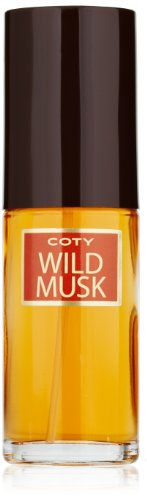 Coty Wild Musk Cologne Concentrate Spray, 1 Fluid (Coty Wild Musk Cologne Spray)
