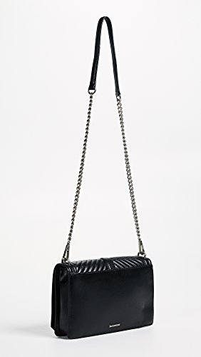 Body Cross Bag Slim Chevron Love Black Quilted Women's Rebecca Minkoff qwOUvAT