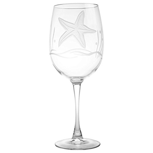 Rolf Glass Starfish All Purpose Wine Glass (Set of 4) ()