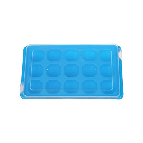 15 Ice Cube Unique Tray Mold Mould Maker with Cover Party Y7O4 ()