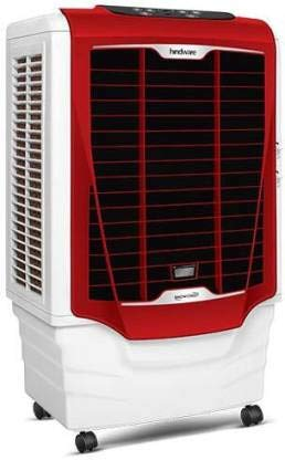 Hindware SNOWCREST 80 RED Desert Air Cooler (WHITE AND RED, 80 Litres)