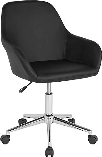 Marvelous Amazon Com Modern Retro Upholstered Swivel Seat Task Office Customarchery Wood Chair Design Ideas Customarcherynet