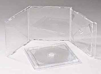 Vision Media - Lote de 20 carcasas dobles para CD ...