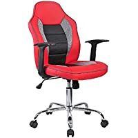 Adore Max Office Easy Racing Çalışma Koltuğu, Kırmızı, Siyah, Gri MXY100KC
