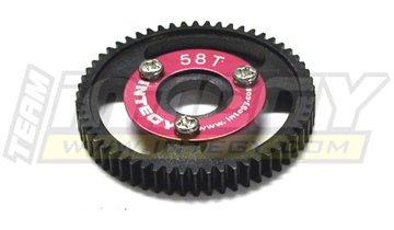 T-maxx Steel - Integy RC Model Hop-ups T3657 58T Steel Spur Gear for T-Maxx3.3 & Jato