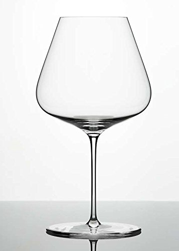 Zalto Denk'Art Burgundy Wine Glass - Luxury Stemware - Espeically for Pinot Noir, Nebbiolo, Barbera, Chardonnay and Grünen Veltliner - Brings Out Fruit and Sweeter Notes (6-Pack) by Zalto