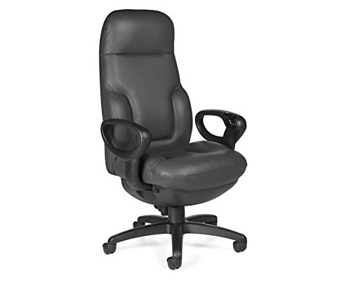 Concorde Leather - Concorde Leather 24 Hour Big and Tall Ergonomic Chair Dimensions: 28.5