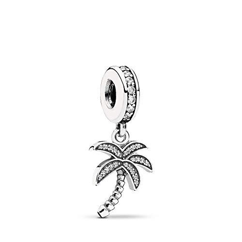 Sparkling Palm Tree Charm/ Pendant