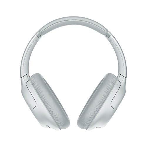 chollos oferta descuentos barato Sony WHCH710NL Auriculares inalámbricos Noise Cancelling Batería 35 h Carga rápida Llamadas Manos Libres diseño Compacto Alrededor de la Oreja óptimo para Trabajar en casa Blanco Adaptable
