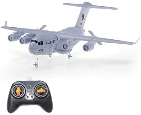 ZHLFDC EPP RC飛行機2.4GHzのRC交通飛行機固定翼ドロッププルーフ翼幅挿入リモートコントロールプレーンのおもちゃギフト41.5 X 21 X 3.9では