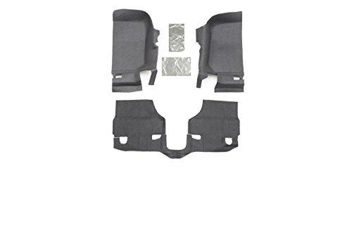 BedRug Jeep Kit - BedTred BTJK07F2 fits 07-10 JK 2DR FRONT 3PC FLOOR KIT (INCLUDES HEAT SHIELDS)