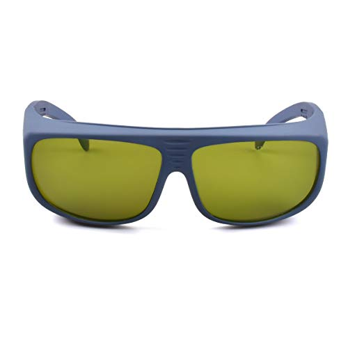 Laser Wavelength - 190nm-550nm / 800nm-1700nm Wavelength Professional Laser Safety Glasses for Typical 405nm, 445nm, 450nm, 520nm, 532nm, 808nm, 980nm, 1064nm, 1100nm Laser Light (Style 5)