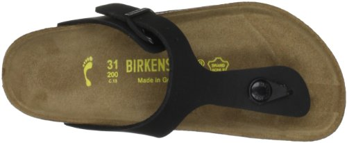 Birkenstock Womens Thongs Black UXHjrTfn