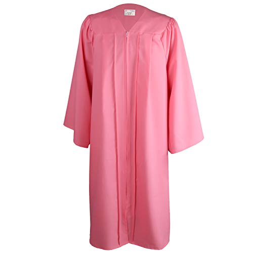 - OSBO GradSeason Unisex Matte Robes for Graduation Gown, Choir Robes, Pulpit Robe and Pastor Pink
