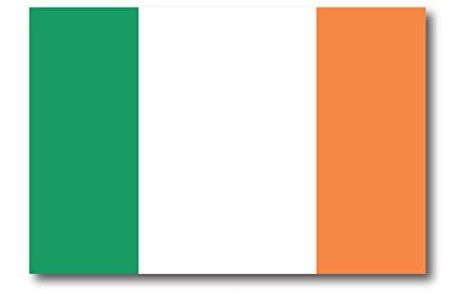 Ireland Flag Car Magnet Decal 4 x 6 Heavy Duty for Car Truck SUV ()