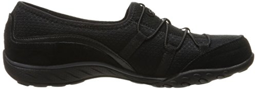 Blithe Sneakers Easy Schwarz Skechers Blk Breathe Blk Damen aqAIwtp