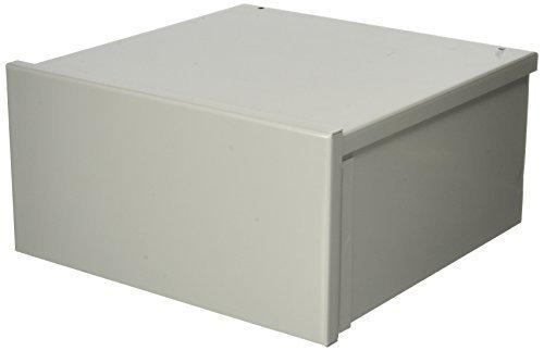 Hoffman A12R126 NEMA 3R Enclosure, Screw Cover, Galvanized, Paint Finish, 12'' x 12'' x 6''