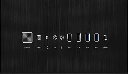 MSI MPG SEKIRA 500P Full Tower Gaming Computer Case 'Black, 4x 120mm PWM Fans, USB Type-C, Tempered Glass Panel, E-ATX, ATX, mATX, mini-ITX' - 306-7G09M61-W57