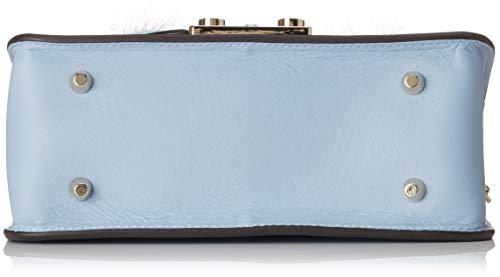 H Sacs Furla T femme S bandoulière Bleu B Fiordaliso x 5x17x20 cm Metropolis Crossbody Papillon IOAqOr4