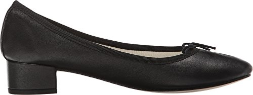 Patent Camille Leather Ballerina Nappa Repetto Black ABRqEA