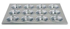 Update International MPA-12 Aluminum Muffin/Cup Cake Pan 12-Cup