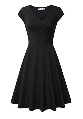 juniors black dress for funeral - 5
