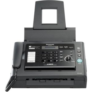 Panasonic KX-FL421 Fax/Copier Machine - Laser - Monochrome Sheetfed Digital Copier - 10 cpm Mono - 600 x 600 dpi - 250 Sheets Input - Plain Paper Fax - Corded Handset - 33.60 Kbps Modem - KX-FL421