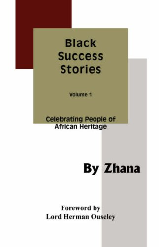 Black Success Stories Volume 1