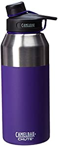 CamelBak Chute Vacuum Insulated Stainless Bottle, Violet, 40 oz