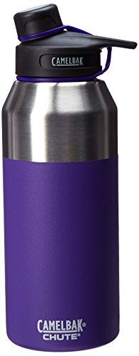 CamelBak Chute Vacuum Insulated Stainless Bottle, Violet, 40 oz ()
