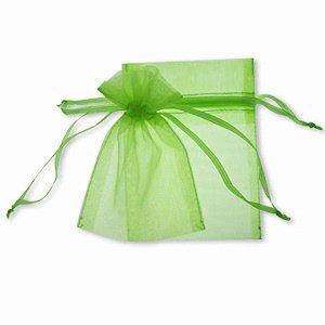 Luz verde, 100 bolsas de Organza 9 x 12 cm, diseño de ...