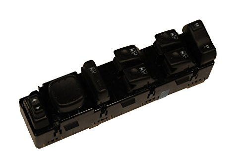 ACDelco 15883319 GM Original Equipment Front Door Lock and Side Window Switch with Mirror Switch and Module Ac Delco Window Switch
