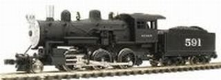 N RTR 2-6-0 SF MDP7611 [Toy] -  Model Power, 07611MOD