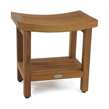 Amazon.com: Sumba Shower Bench with Shelf, Bench Only: Health ...