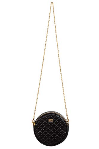 Dolce & Gabbana 100% Leather Black Women's Crossbody Bag