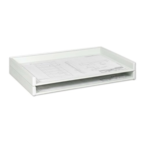 Safco Products 4897 Giant Stack Tray for 24″ x 36″ Documents, White