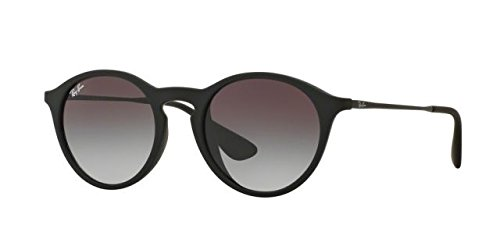 Ray-Ban RB4243F Sunglasses Rubber Black / Grey Gradient Dark Grey - Fit Asian Rayban