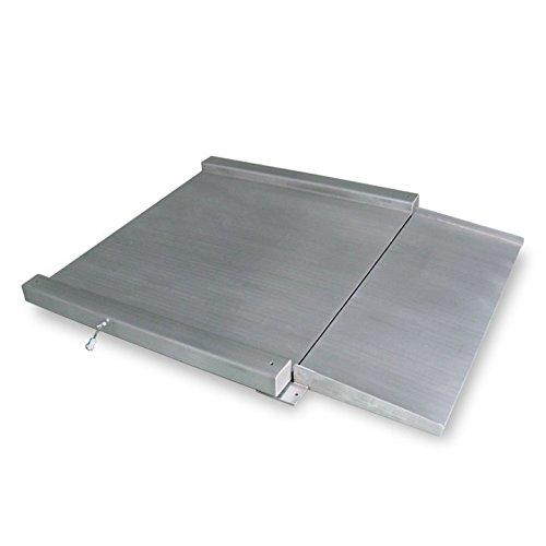 Báscula industrial acero inoxidable VERIFICADA RGI 1200 (1500Kgx500g) (120x120cm): Amazon.es: Bricolaje y herramientas