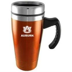 Auburn Tigers Thermos - Auburn Tigers Engraved 16oz Stainless Steel Travel Mug - Orange