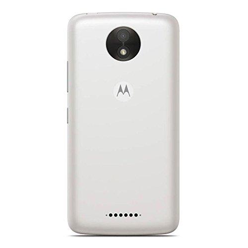 Motorola Moto C 3G H+ Unlocked XT1750 Quad Core 8GB Android 7.0 Dual Sim 5 Inch International Version (Pearl White) by Motorola (Image #2)