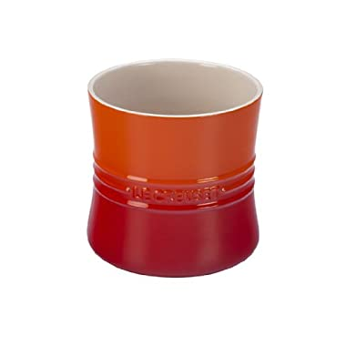 Le Creuset Stoneware 2 3/4-Quart Utensil Crock, Flame