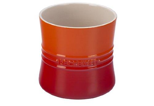 Le Creuset Stoneware 2 3/4qt. Utensil Crock, Flame