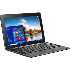 "BIT W1004APB 10.1"" Z8300 32G 4G abgn 2-In-1 Laptop/Tablet, Black"